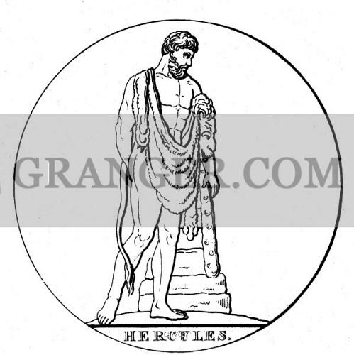 Image Of Personalities Heracles Greek Deity And Divine Hero