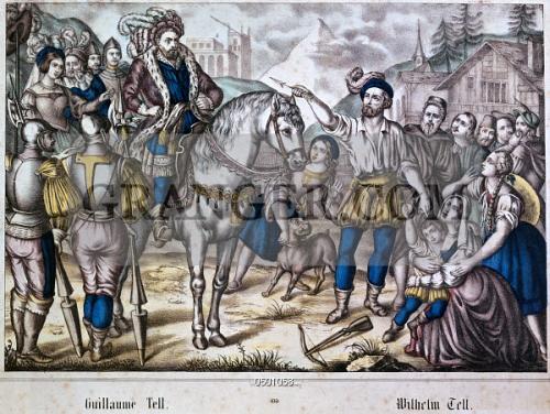 Image of PERSONALITIES  - Tell, William, Swiss National Hero