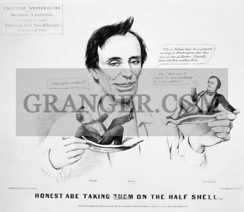 Image Of Presidential Campaign 1860 Republican Presidential