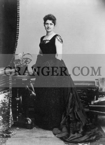 Image Of Frances Folsom Cleveland 1864 1947 Wife Of