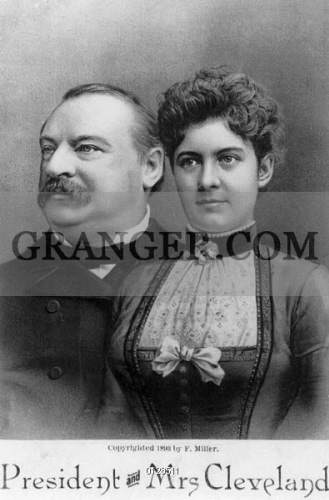 Image Of Grover Frances Cleveland American President