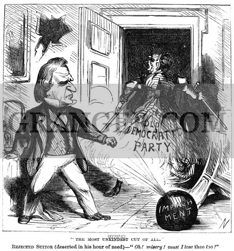 an analysis of the impeachment of the president of the united states The biggest show in washington 150 years ago was the trial against the president of the united states.