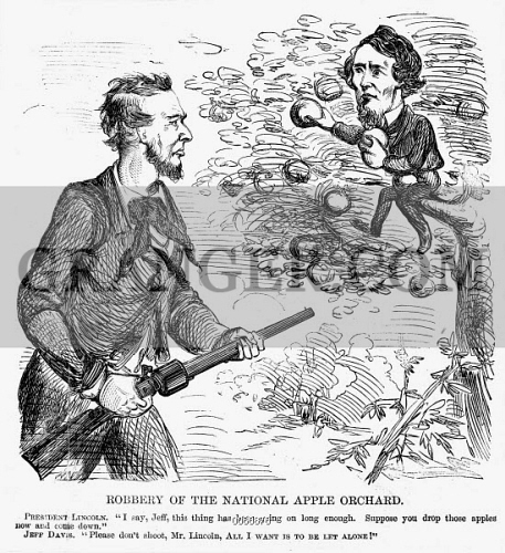 Image Of Abraham Lincoln Cartoon Cartoon From A Northern American