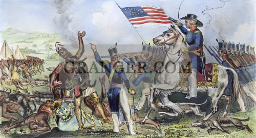 Image Of Cartoon Taylor 1848 American Cartoon Commenting On The
