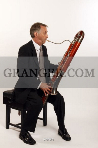 Image of MUSICAL INSTRUMENT  - Contra Bassoon Made By Heckel