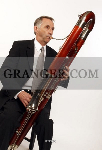 Image of MUSICAL INSTRUMENT  - Contra Bassoon Made By Heckel, In