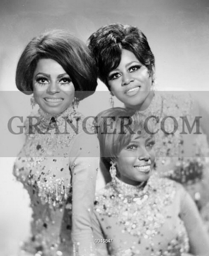Image Of The Supremes American Popular Vocal Trio From Left To Right Diana Ross Mary Wilson And Florence Ballard Photograph 1960s From Granger Historical Picture Archive