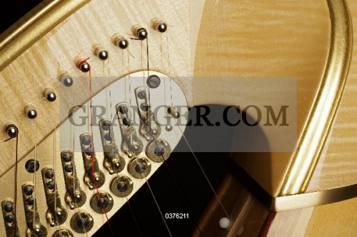 Image of MUSICAL INSTRUMENT  - Concert Harp Made By