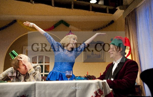 Image of theater performance seasons greetings by alan ayckbourn seasons greetings by alan ayckbourn oliver chris as clive jenna russell m4hsunfo