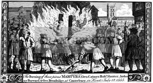 FOXE: BOOK OF MARTYRS. 