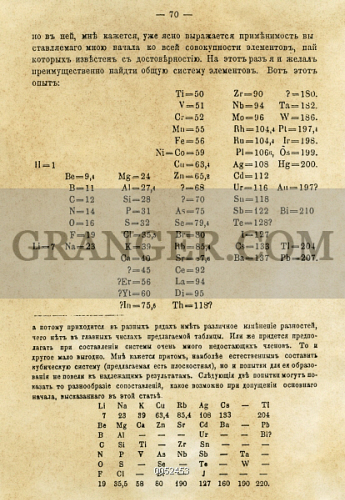 Image of periodic table 1869 the page from the journal of the periodic table 1869 the page from the urtaz Choice Image