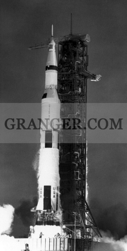Image of APOLLO 11: LAUNCH, 1969  - Launch Of The Apollo 11