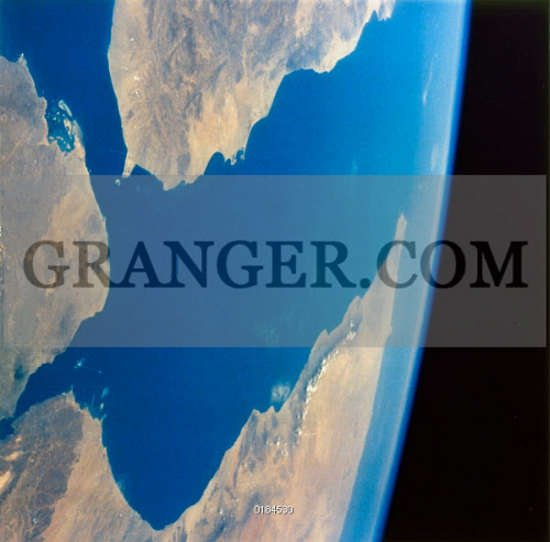 Image of EARTH FROM SPACE, 1984  - A View Of Yemen, Ethiopia