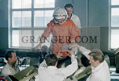 Image of YURI GAGARIN (1934-1968)  - Soviet Cosmonaut And The First