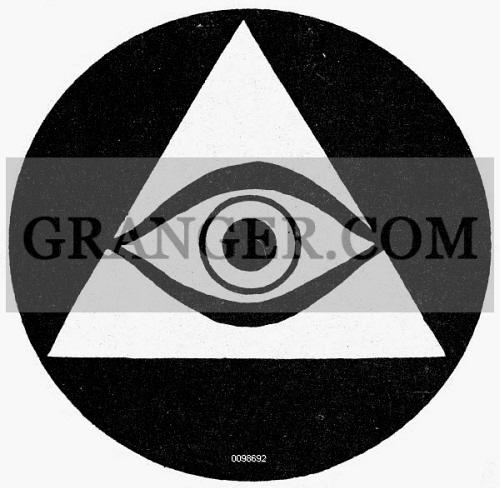 Image Of Symbol All Seeing Eye Symbol Of Vigilance From Granger