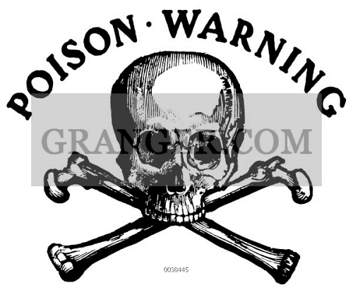Image Of Skull And Crossbones International Symbol For Poison