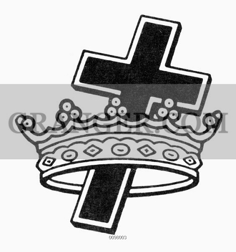 Image Of Seal Knights Templar The Crown And Cross Symbol Of The