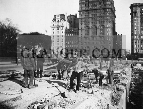 HOTEL DEMOLITION, 1905. 