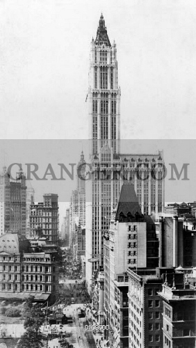 Image Of Woolworth Building 1913 The Woolworth Building New