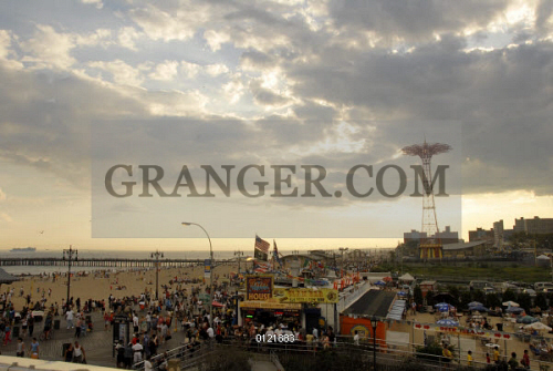 Image of CONEY ISLAND: BOARDWALK  - The Clam Bar And Beer