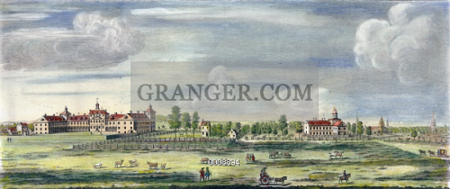 Image of PHILADELPHIA VIEW, C1767  - A View Of The House Of