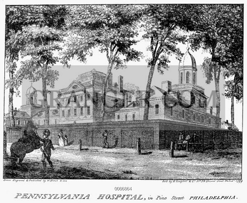Image of PHILADELPHIA: HOSPITAL, 1799  - Pennsylvania