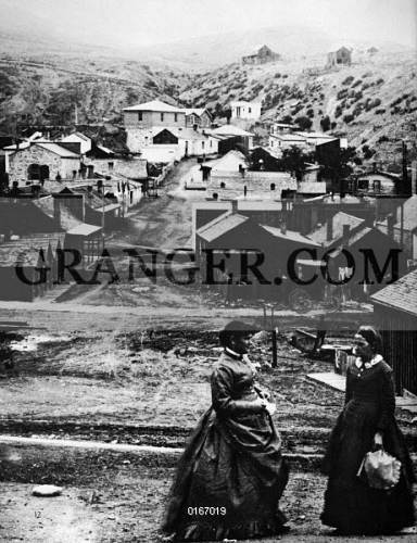 Image of MONTANA: HELENA  - Two Women In The Mining Town Of