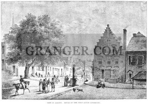 Image Of Albany Dutch Colonial The House Of The First Dutch