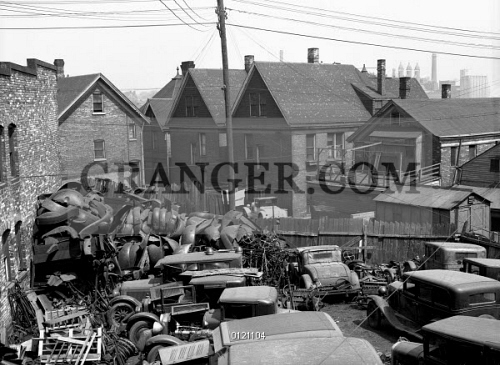 Junk Yards In Milwaukee Wisconsin >> Image Of Milwaukee Auto Parts 1936 A Junkyard With Auto