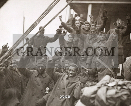 WWI: 369TH INFANTRY, 1919. 