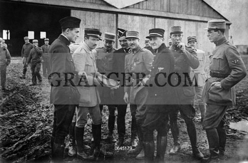 Image of WWI: LAFAYETTE ESCADRILLE  - Members Of The Lafayette