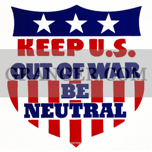 reasons for u s neutrality Neutrality acts of the 1930s  submarine attacks on us vessels and the japanese  i had been orchestrated by bankers and arms dealers for profit reasons.