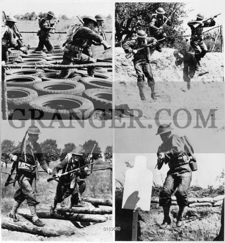 Image Of WWII: TRAINING, 1941.