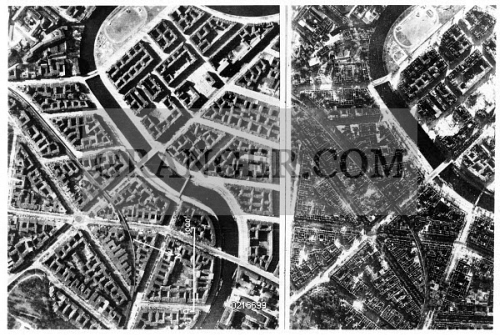 Image of WORLD WAR II: BERLIN  - Two Photographs Showing