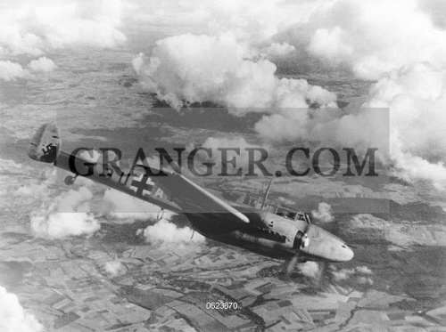 Image of WWII: GERMAN AIRCRAFT  - German Aircraft Over