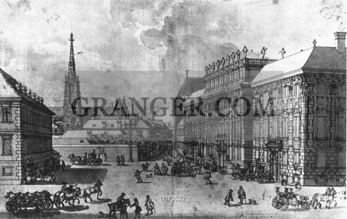 image of prince lobkowitz s palace in vienna where ludwig van