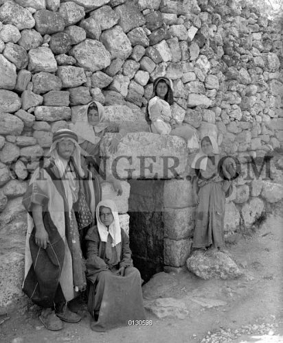 Image of BETHANY: TOMB OF LAZARUS  - A Man And Children