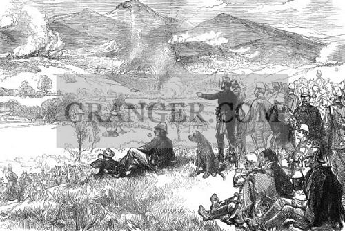 Image of SARAJEVO: BOMBING, 1878  - The Bombardment Of Sarajevo