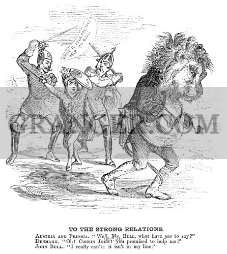 Image Of Schleswig Holstein 1864 An American Cartoon Of July