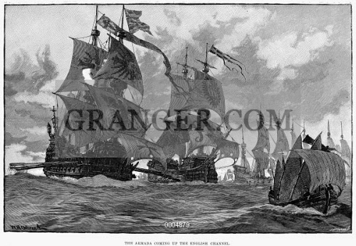 the historical background of the english defeat of the spanish armada in the 16th century A history of england in the 16th century  however royal forces  quickly defeated the rebellion and warbeck was captured in october he was  finally executed  the spanish armada consisted of 130 ships and about  27,000 men.