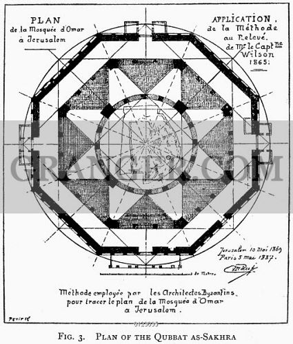 Image of DOME OF THE ROCK. - Floor Plan Of The Dome Of The ...