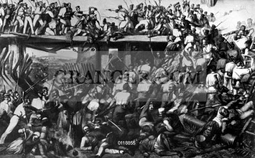 Image of INDIA: SEPOY REBELLION, 1857  - The British Assault