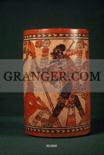 Image Of Mayan Vase Classic Mayan Vase Chama Style From