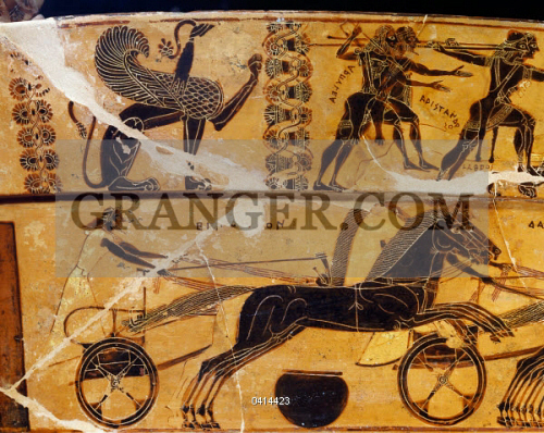 Image Of Archaeology Meleager And Peleus At The Calydonian Boar