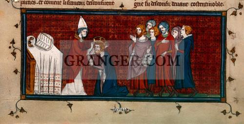 Image of BRITISH LIBRARY. - Chroniques De France Ou De Saint Denis ...