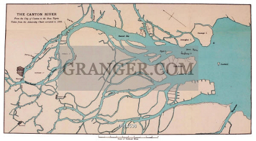 Canton China Map on