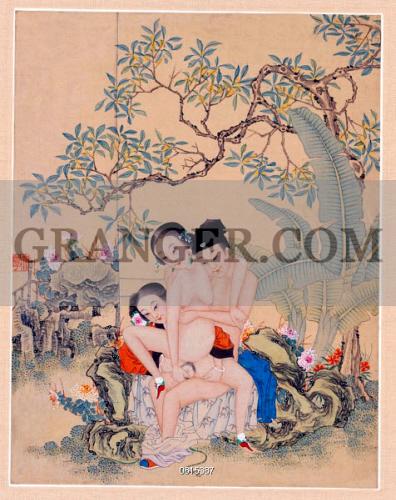 Chinese women making love
