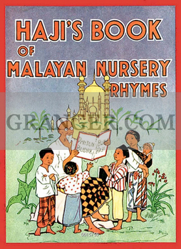 The Front Cover Of Haji S Book Malayan Nursery Rhymes By A W
