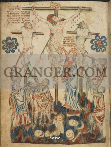 Image of BRITISH LIBRARY  - Holkham Bible Picture Book  The