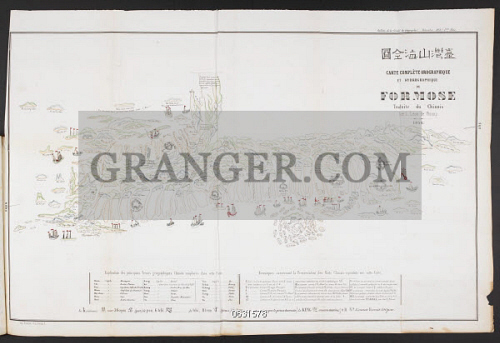 Carte Oro Hydrographique Chine.Image Of British Library Carte Compleaa Te Orographique